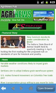 Agrinews screenshot 1