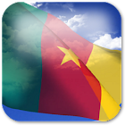 3D Cameroon Flag icon
