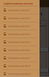 English vocabulary exercises- screenshot thumbnail