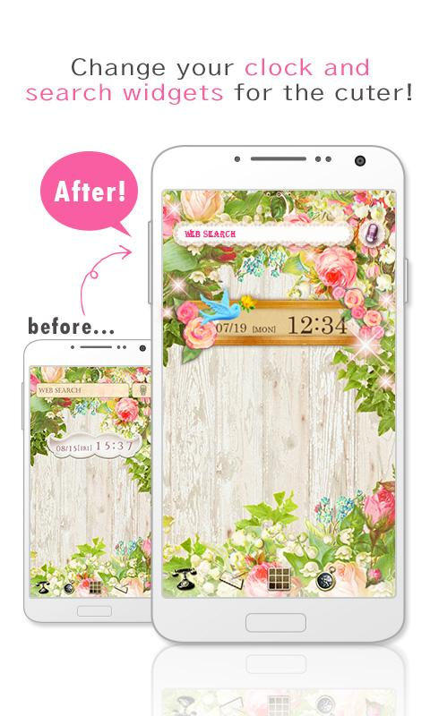 [+]HOME Launcher-cute Themes-- screenshot