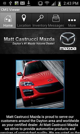 Matt Castrucci Mazda