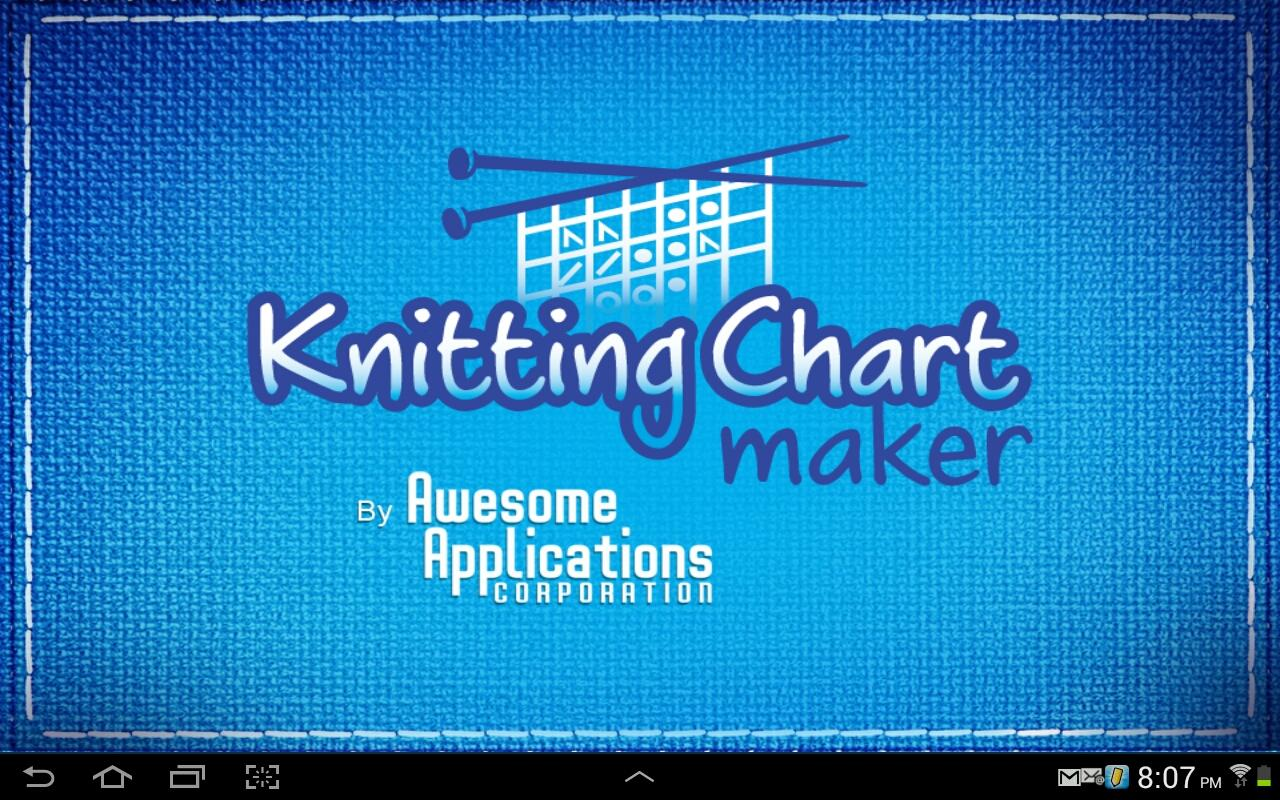 Knitting Chart Maker: captura de pantalla