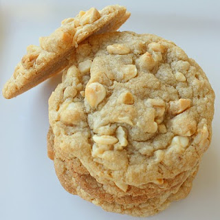 White Chocolate Macadamia Nut Cookies for Cheat Day