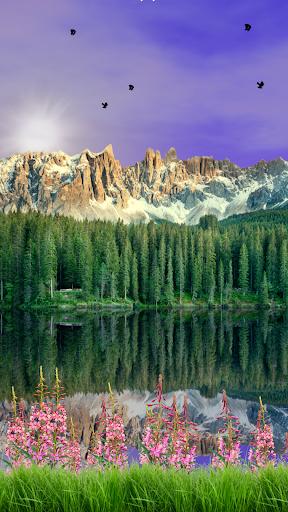 Alpine Lake Live Wallpaper