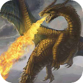 Fire-breathing dragon live wp