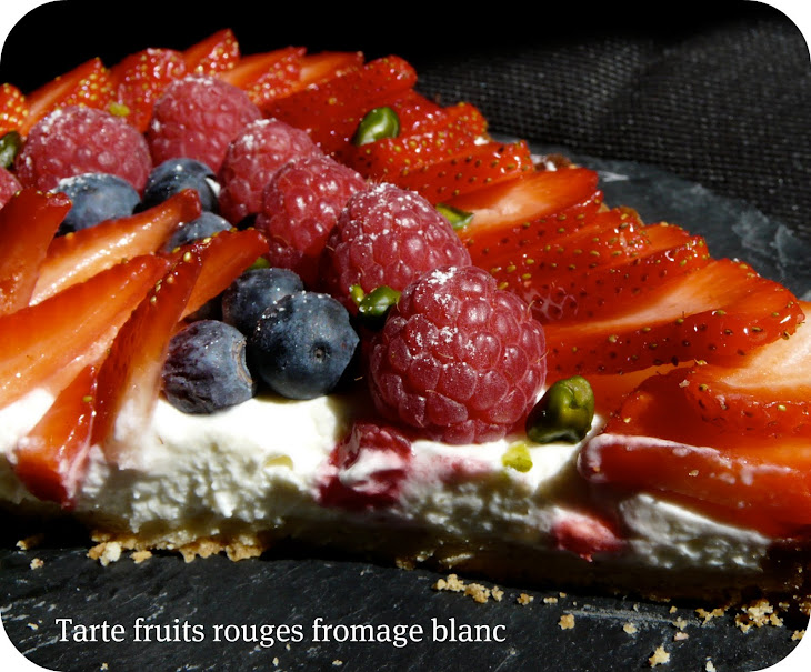 No-Bake Berries and Yogurt Tart. Recipe