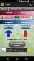 Screenshot of Arsenal