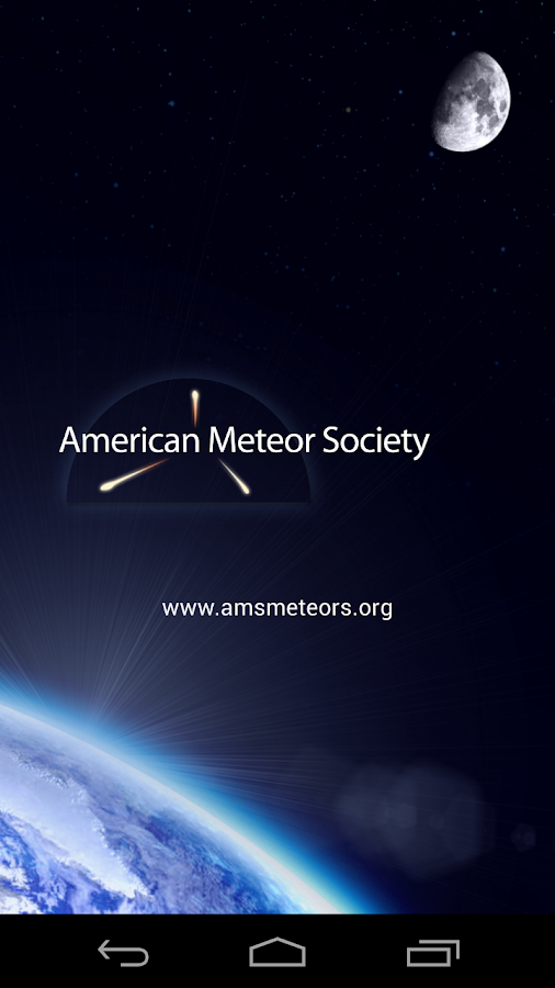 AMS Meteors- screenshot