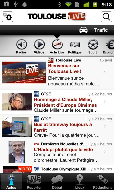 Toulouse Live - screenshot