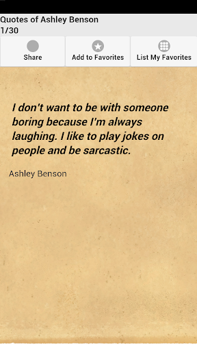 Quotes of Ashley Benson