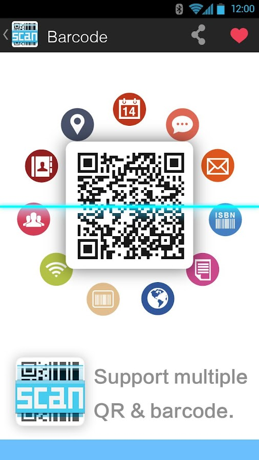 Barcode - screenshot