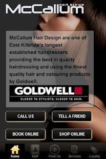 McCallum Hair Design - screenshot thumbnail