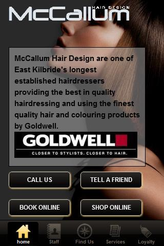 McCallum Hair Design- screenshot