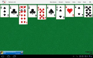 Screenshot of Solitaire HD