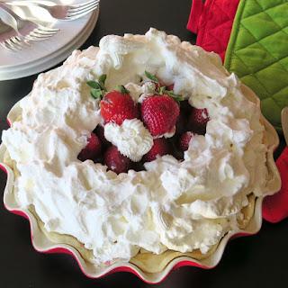 Mile High Strawberry Pie #SundaySupper
