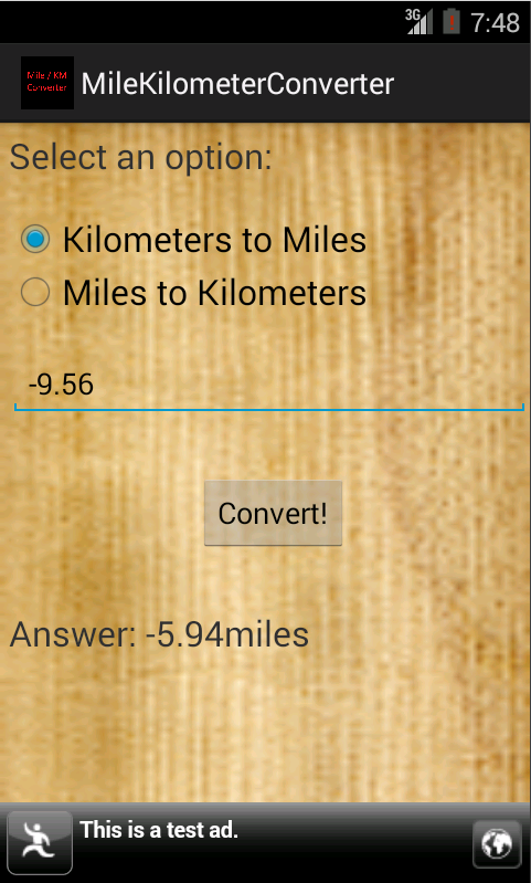 mile kilometer converter android apps on google play. Black Bedroom Furniture Sets. Home Design Ideas