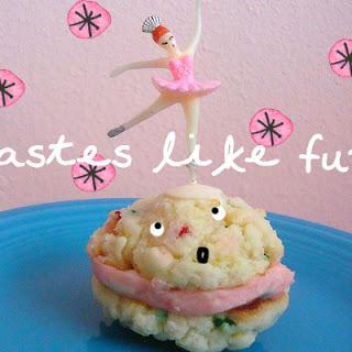 Funfetti Cake Mix Cookie Sandwiches.