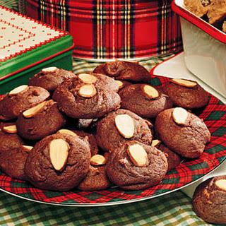 Chocolate-Almond Cookies