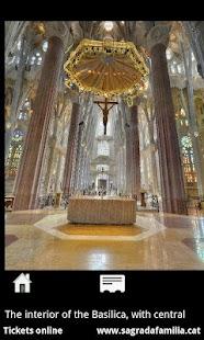 Sagrada Família - Smartphone: miniatura de captura de pantalla