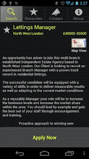LCA Estate Agency Job Search - screenshot thumbnail