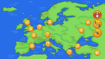 Screenshot of WizDots Europe Lite