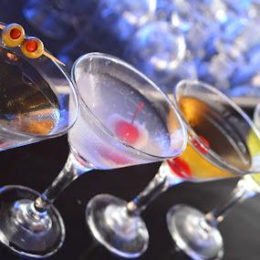 the martini's family by Aditya Maulana - Food & Drink Alcohol & Drinks