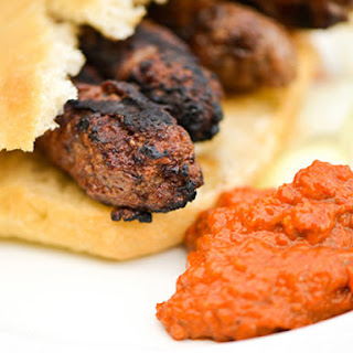 Cevapi (Southeastern European Meat and Onion Sausages)