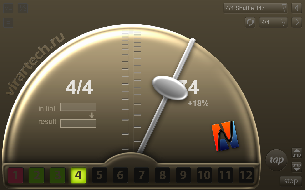 Vi-Metronome- screenshot