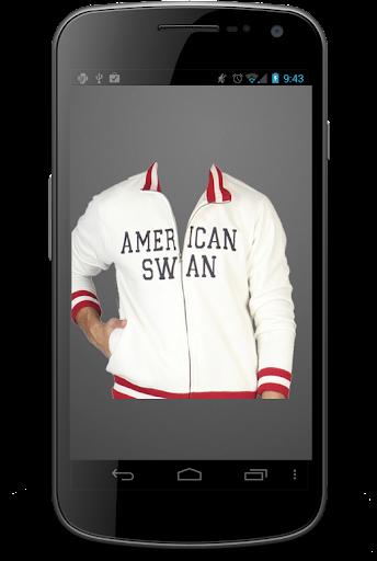 美国男子时尚西装