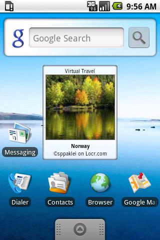 Virtual Travel - screenshot