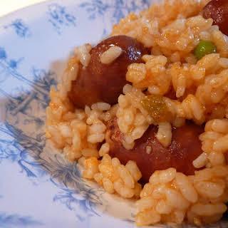 Chorizo Rice.