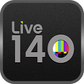 Live 140: Tweet Streams for TV icon
