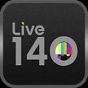 Live 140: Tweet Streams for TV icon