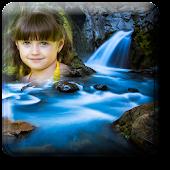 Photo Frame on Waterfall