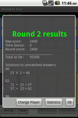 NumberFun - screenshot