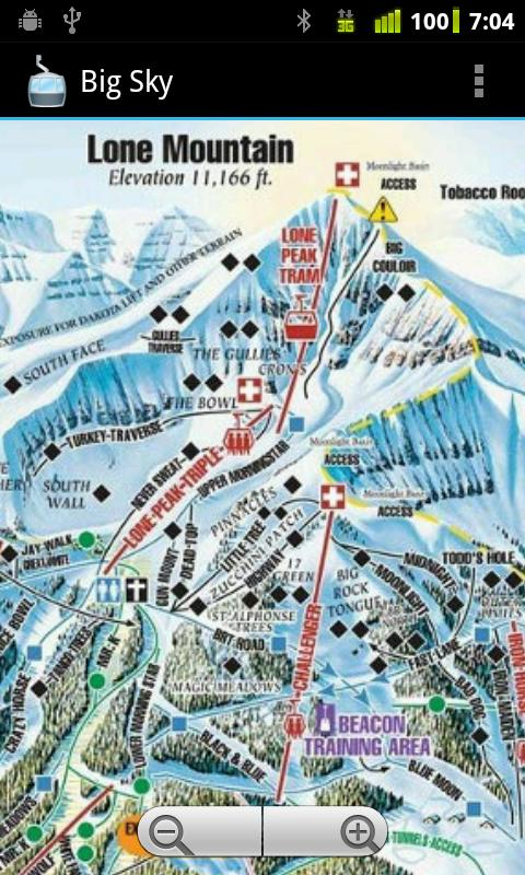 Ski TrailMaps- screenshot