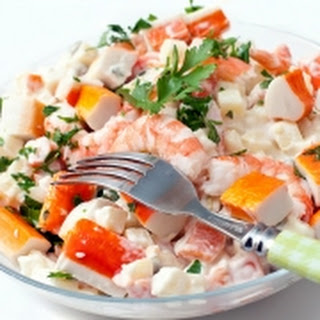 Krab Salade Recipe