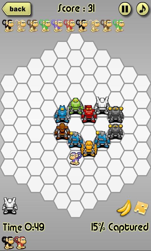 Monkey Blockade- screenshot