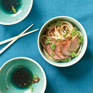 Char Siu over Sesame Noodles