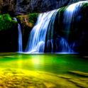 HD Waterfall 3D Live Wallpaper icon