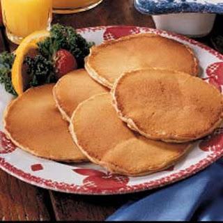Peanut Butter Pancakes.