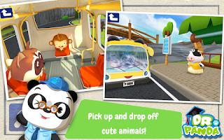 Screenshot of Dr. Panda's Bus Driver