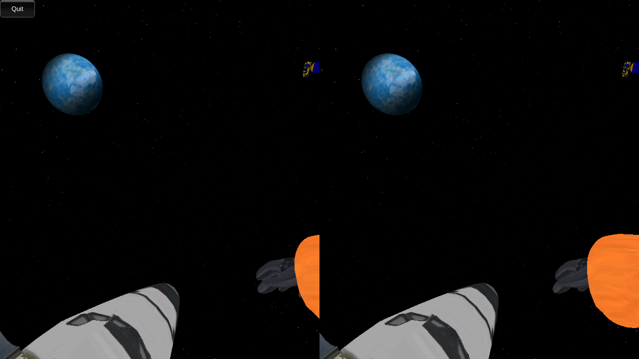 VR Space Walk- screenshot
