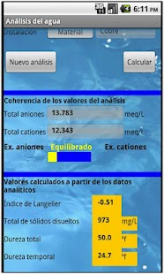 Análisis del agua- screenshot thumbnail