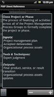 Screenshot of PM Sheet (PMP® Exam Prep) pro