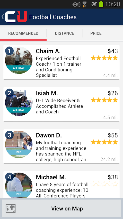 CoachUp - Sports Lessons - screenshot