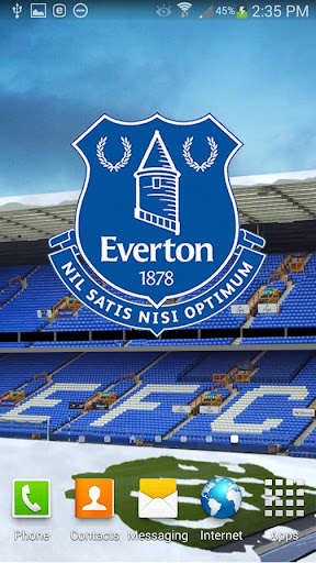 Everton FC Snow Globe