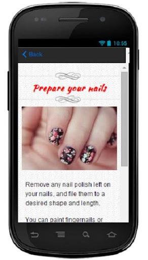 玩書籍App|Make a Nail Art Flower免費|APP試玩