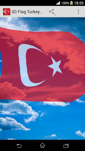 3D Flag Turkey LWP