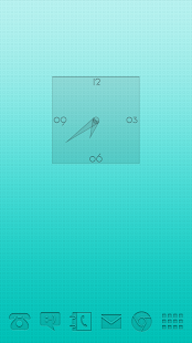 PushOn UCCW Clock and Weather- screenshot thumbnail